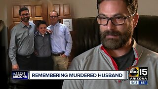 Husband of man murdered in Glendale speaks out