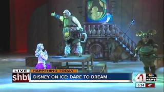 'Disney on Ice' Dare to Dream is at the Sprint Center - Video