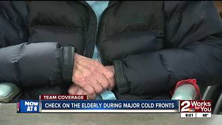 Check on seniors during colder weather - Video