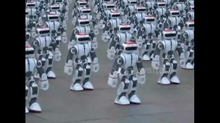 More than 1000 robots dance simultaneously to break world record - Video