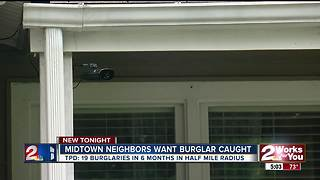 Midtown neighbors want burglar caught - Video