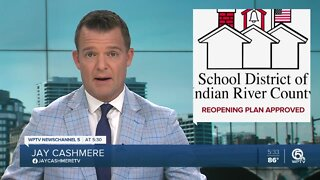 State approves Indian River County School District's reopening plan