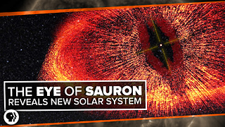 The Eye of Sauron Reveals a Forming Solar System!