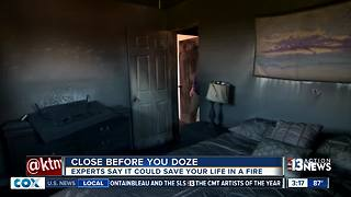 Close before you doze could save your life - Video