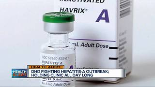 Detroit Health Department fighting Hepatitis A outbreak - Video