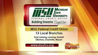 MSU Federal Credit Union- 8/14/17 - Video