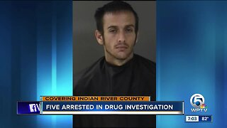 5 suspects arrested in Indian River County on multiple drug charges