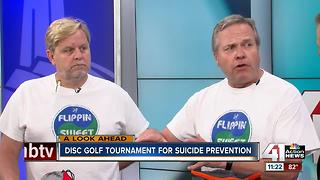 Organizers talk about the Flippin' Sweet Memorial Disc Golf Tournament - Video
