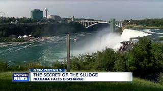Report: Black, smelly Falls discharge blamed on faulty technology - Video