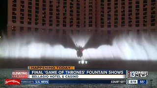 Final Game of Thrones show at Bellagio