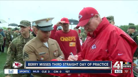 Chiefs hosts veterans for last day of camp