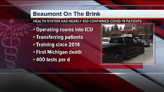 Beaumont Hospitals on the brink