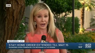 Arizona stay home order extended until May 15