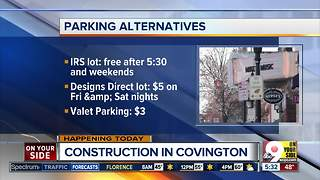 Covington prepares for potential parking challenges with new Mainstrasse development - Video