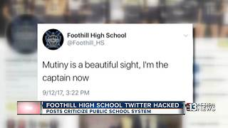 Foothill High School twitter account - Video
