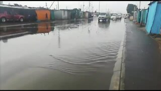 South Africa - Cape Town - Western Cape Storm (Video) (XfP)