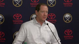 02/27 Housley reacts to first deadline as Sabres coach - Video