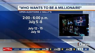 Who Wants To Be A Millionaire auditions - Video