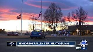 Funeral services for Adams County Deputy Heath Gumm scheduled for Friday