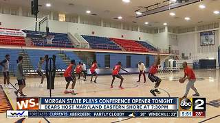 Morgan State returns home to play MEAC opener