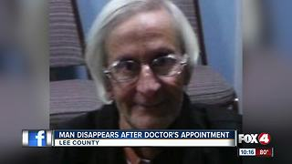 SWFL man disappears after doctor's appointment - Video