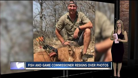 Idaho Fish and Game Commissioner resigns after he shares controversial hunting photos