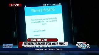 UA develops fitness tracker for your mind - Video