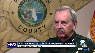 PBSO asks for more money to hire more deputies - Video