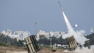 Israel Defense Forces Say Iran Launched Missiles At The Golan Heights - Video