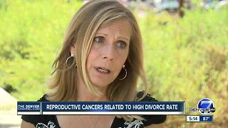 Reproductive cancers linked to higher divorce rates - Video