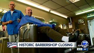 Historic Denver barber shop to close after 65 years - Video
