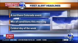 Thursday morning forecast: First Alert Action Day - Video