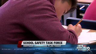 Hoffman speaks on school safety