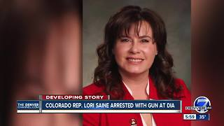 Colorado State Rep. Lori Saine arrested, accused of having gun at Denver International Airport - Video