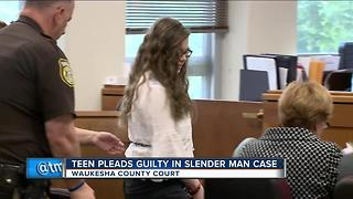 Slender Man suspect pleads guilty