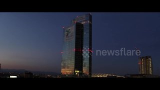 Stunning drone footage of Milan's skyline - Video