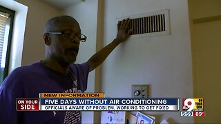 Public housing crisis: Residents living without air conditioning in CIncinnati