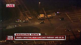 Pasco deputies investigating homicide near Suncoast Parkway and SR 54 - Video
