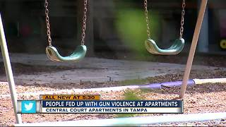 Tampa Heights demands action after shooting - Video