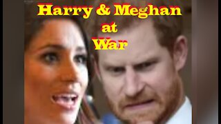 Harry & Meghan Scrappin' IT OUT!!