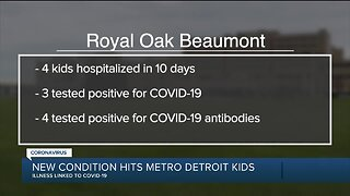 New condition hits metro Detroit kids