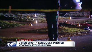Man seriously injured in Buffalo double shooting