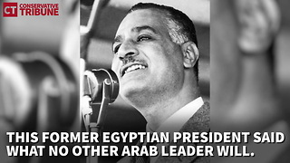 Video Shows Egyptian President Making Fun Of Radical Islam In 1958 - Video
