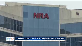 PolitiFact Wisconsin: NRA's influence on State Supreme Court race - Video