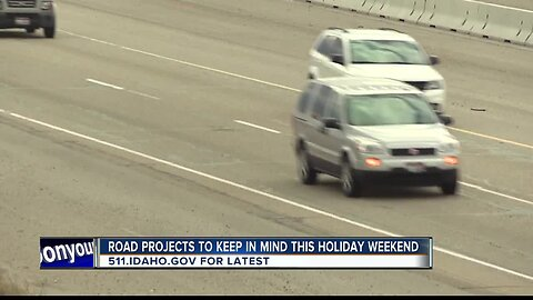 Road condition warnings ahead of Memorial Day travel