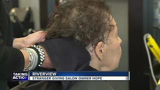 Acts of Kindness: Local salon receives a helping hand after losing everything in a fire