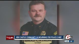 Community mourns loss of New Castle police chief - Video