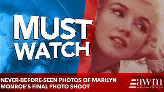Never-before-seen photos of Marilyn Monroe's final photo shoot - Video
