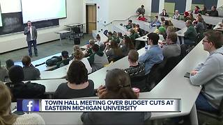 Eastern Michigan eliminating four sports programs due to budget cuts - Video