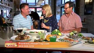 We sample some incredible seafood entrees from Frankies Lobstah Trap - Video
